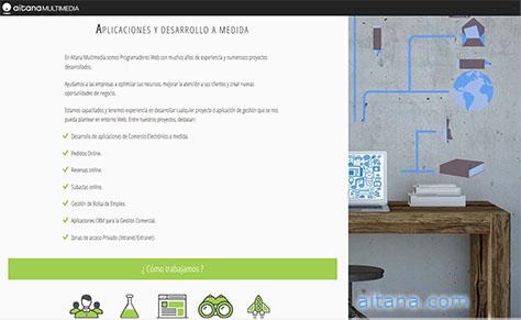 Aitana | Comercio electrónico a medida