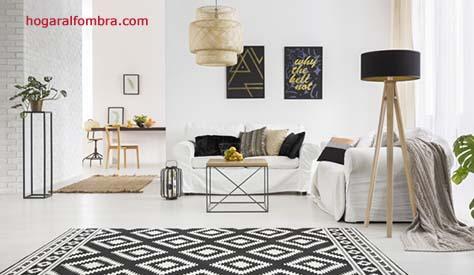 Alfombra geométrica- Hogar Alfombra, venta de alfombras on line