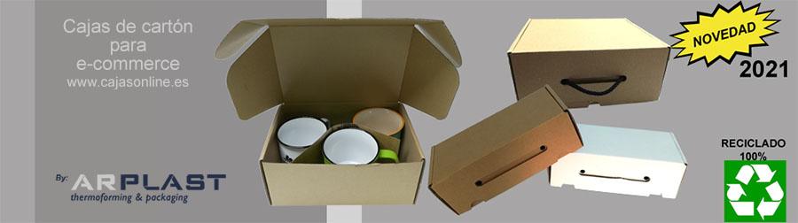 Cajas de cartón para la venta online