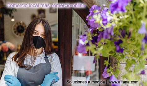 Comercio local más comercio online