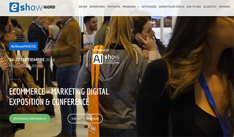 eShow Madrid 2018 | Ecommerce y Marketing digital