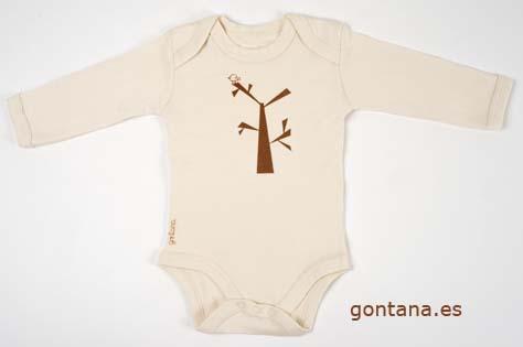 Ropa para bebés en algodón orgánico