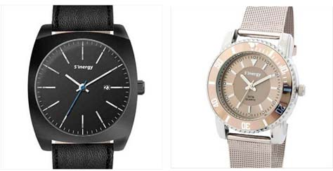 Relojes hombre mujer Sinergy