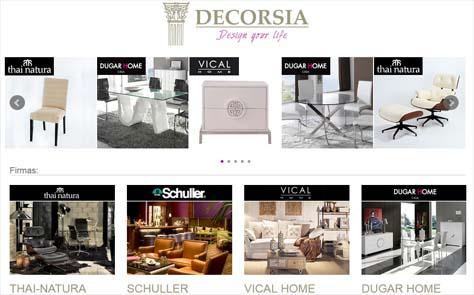 Decorsia Muebles - Nueva Tienda Online