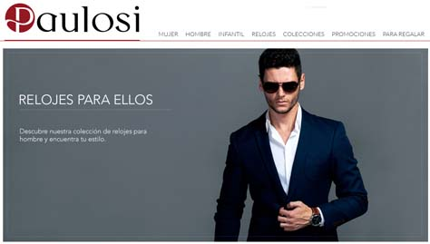 Tienda de relojes online Paulosi